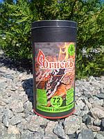 Разжигатель с древесной шерсти ТМ ОгневЪ в тубе 72 шт, фото 1