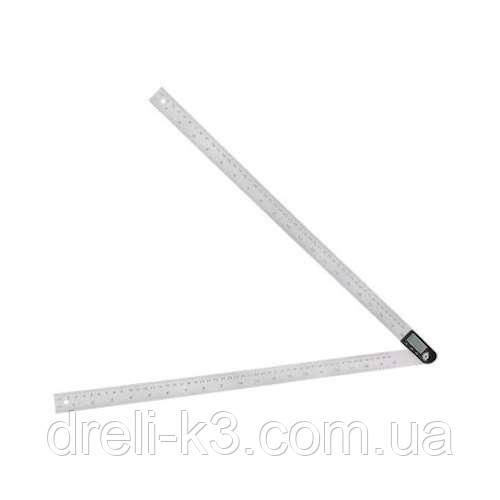 Кутомір для вимірювання кутів цифрової з лінійкою 500 мм PROTESTER 5422-500
