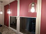 Рулонные шторы Luminis. Тканевые ролеты Люминис 57, Лиловый 227, фото 2