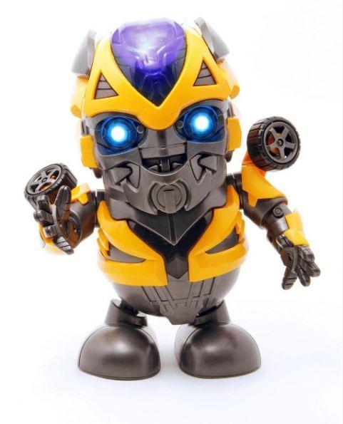 Интерактивная игрушка танцующий супер герой робот трансформер Бамблби