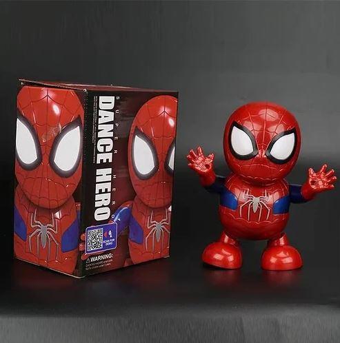 Интерактивная игрушка танцующий супер герой робот ЧЕЛОВЕК ПАУК