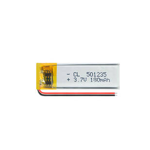 Аккумулятор 501235 Li-pol 3.7В 180мАч для RC моделей MP3 Bluetooth