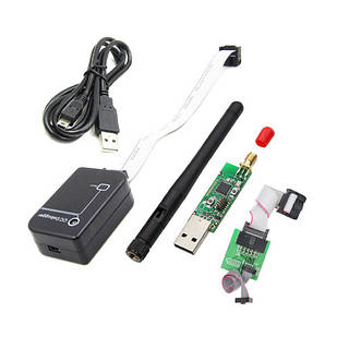 Набір для створення Zigbee мережі , USB CC2531, відладчик CC-Debugger + кабелі
