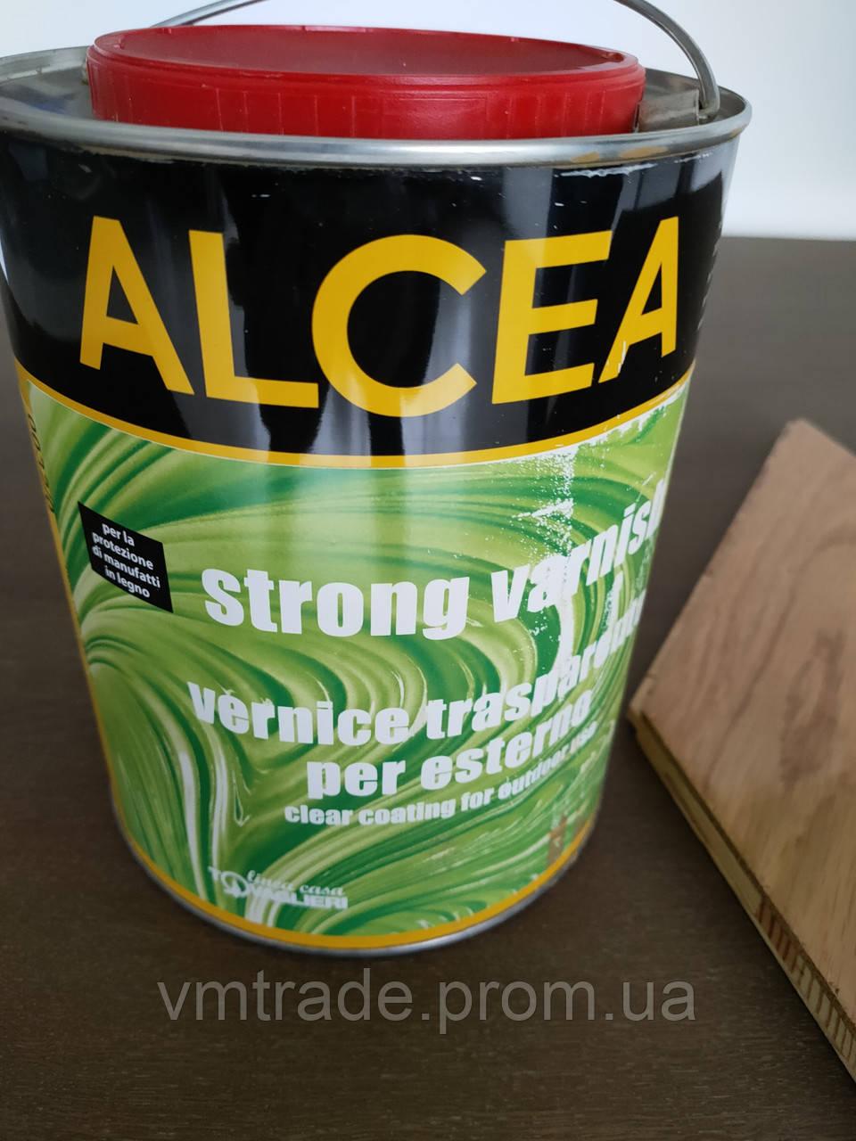 Лак паркетный  Alcea Strong Varnish, 2.5л, шелковисто-матовый (Италия)