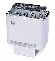 Электрическая печь Sawo NORDEX NR 45 NSB (4.5 кВт, 3-6 м3, 220/380 В ), с отдельным пультом управления