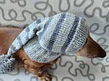 Шапка Санты для маленькой собаки универсальная, фото 5
