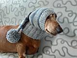 Шапка Санты для маленькой собаки универсальная, фото 3