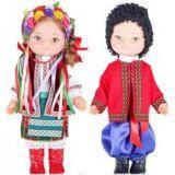 Кукла комплект Украинец и Украинка  35см.