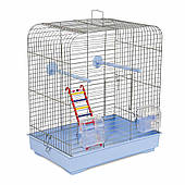 Клетка для мелких декоративных птиц Белла 37*25*37, хром