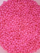 Кондитерская посыпка  рисовые шарики в шоколаде РОЗОВЫЕ 4мм  50 грамм