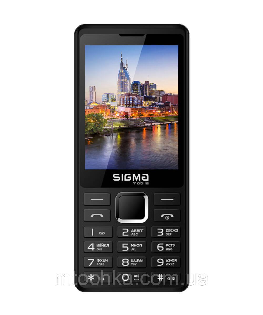 Мобильный телефон Sigma mobile X-style 36 Point black  (официальная гарантия)