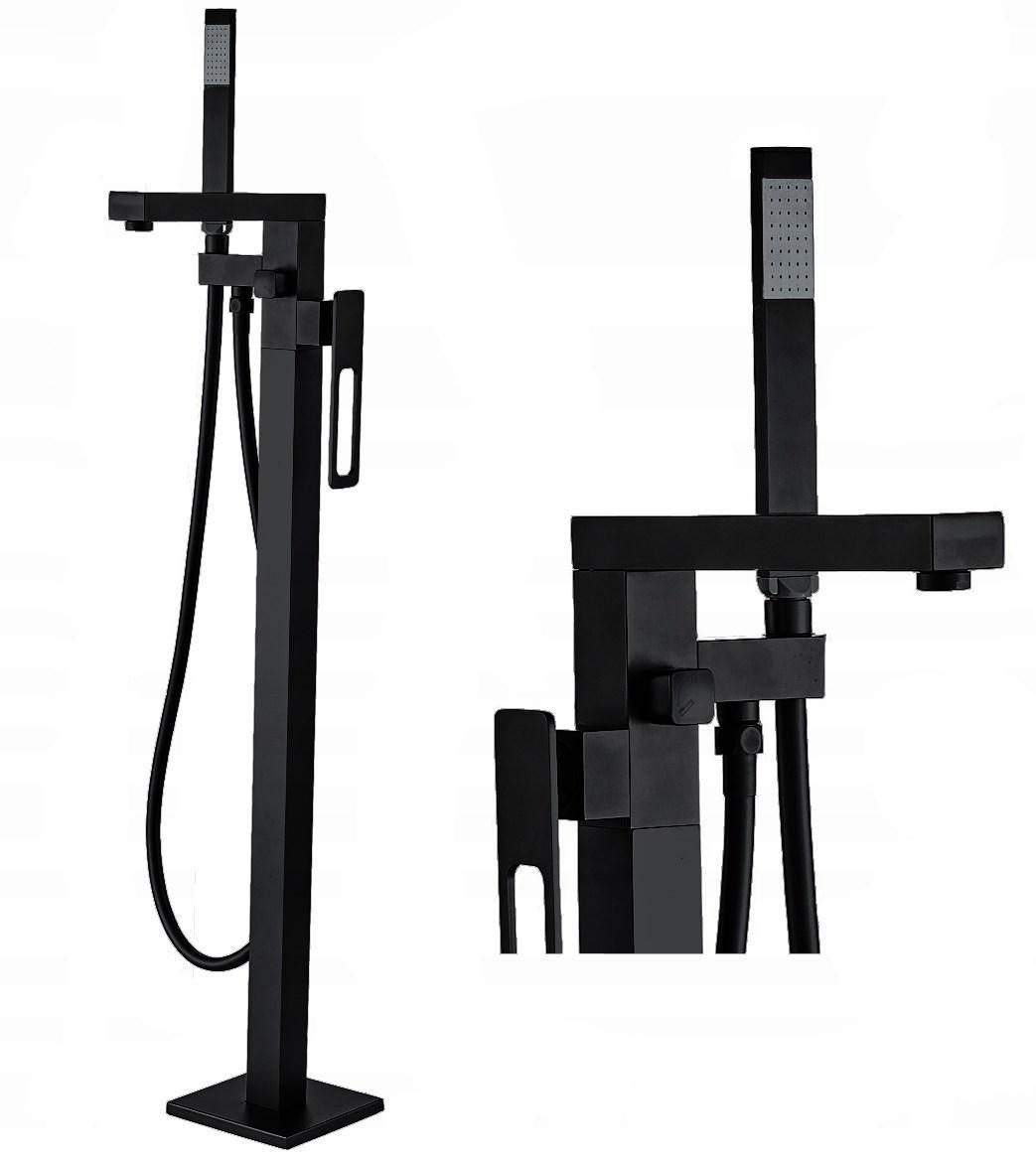 Напольный смеситель для ванны REA SOHO черный