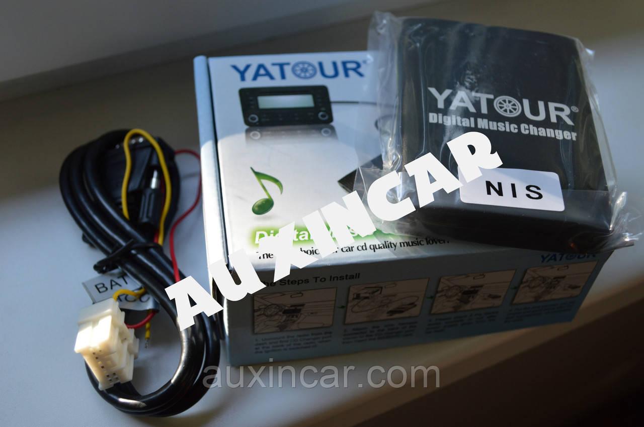 Usb aux sd card Yatour NIS для штатной магнитолы Инфинити
