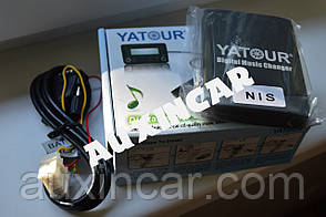 Usb aux sd card эмулятор сд чейнджера Yatour NISS для штатной магнитолы Nissan