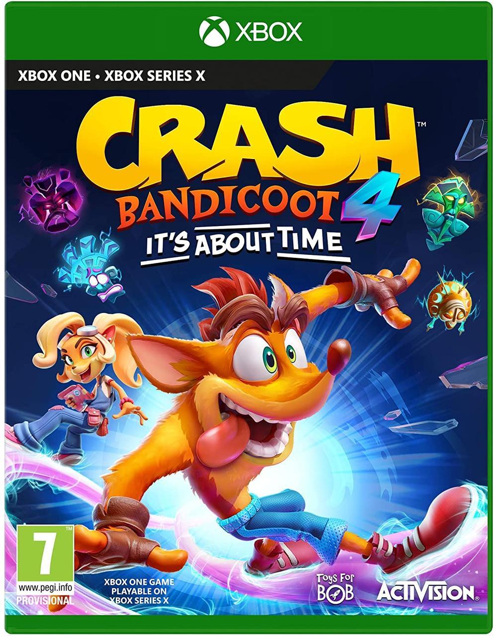 Crash Bandicoot 4: It's About Time (російські субтитри) XBox One