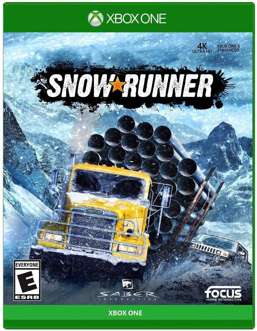Snowrunner (російські субтитри) Xbox One