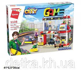 Конструктор Qman 1135 Colorful City-Cool Play Room 461дет.