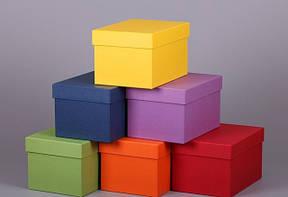 Коробка цветная