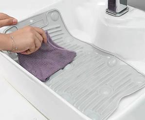 Коврик для ручной стирки силиконовый