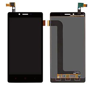 Модуль для Xiaomi Redmi Note, черный, дисплей + сенсор