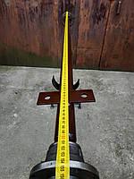 Ось, балка АТВ-155 (01П) для прицепа усиленная со ступицами ВАЗ 2101 не шплинтованными
