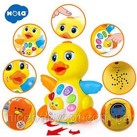 Дитяча інтерактивна іграшка Радісна Утя. Музичні і звукові ефекти