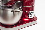 Кухонный комбайн тестомес Royalty Line RL-PKM 2200.472.9 BG  RED  2200 Вт   RED, фото 3