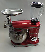 Кухонный комбайн тестомес Royalty Line RL-PKM 2200.472.9 BG RED 2200 Вт RED