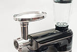Кухонный комбайн тестомес Royalty Line RL-PKM 2200.472.9 BG   2200 Вт  BLACK, фото 4