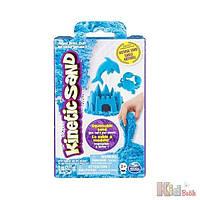 Песок кинетический для детского творчества, KINETIC SANDNEON, голубой, 227 гр Wacky-Tivities 7300006491394
