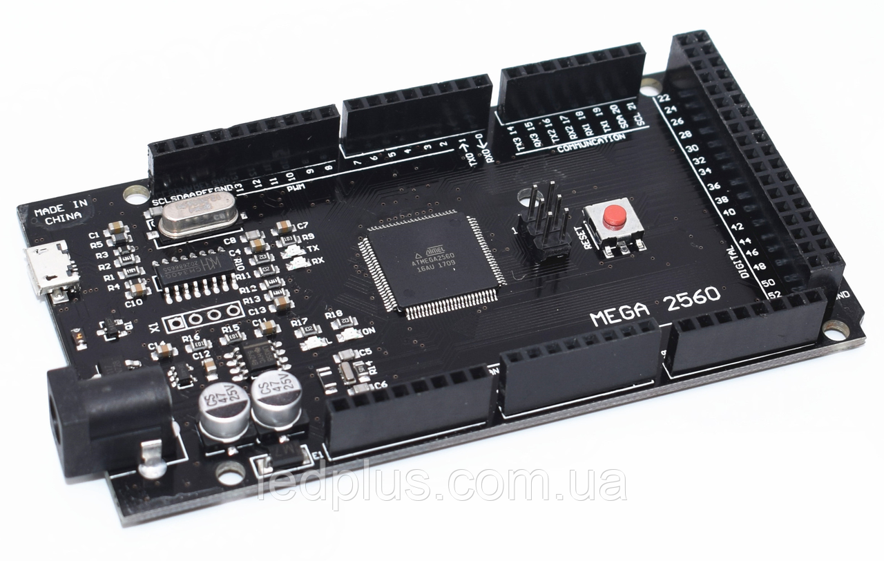 Плата Arduino Mega2560 CH340 micro-USB