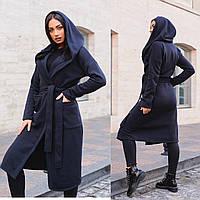 Стильное женское пальто норма и батал, трехнить