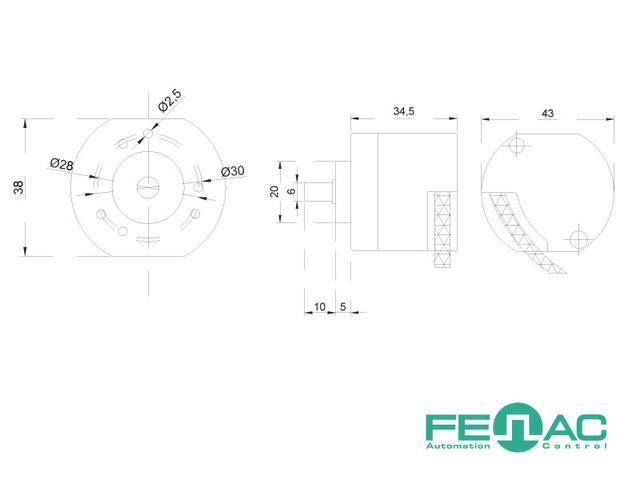 Энкодер FNC 40B