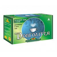 """Зеленый чай """"Долголетие"""" со стевией, 30 г"""
