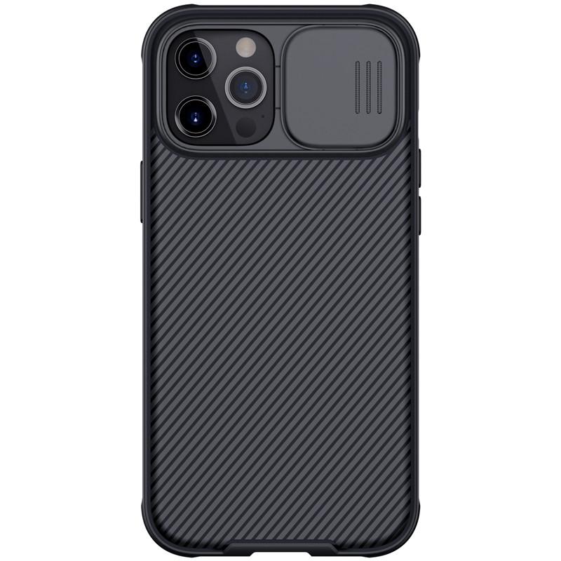 Nillkin iPhone 12 Pro Max (6.7″) CamShield Pro Case Black Чехол Накладка Бампер