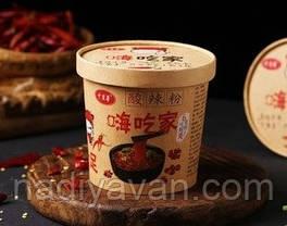 Лапша быстрого приготовления - кисло острый суп в чаше Heychejia 120г, фото 3