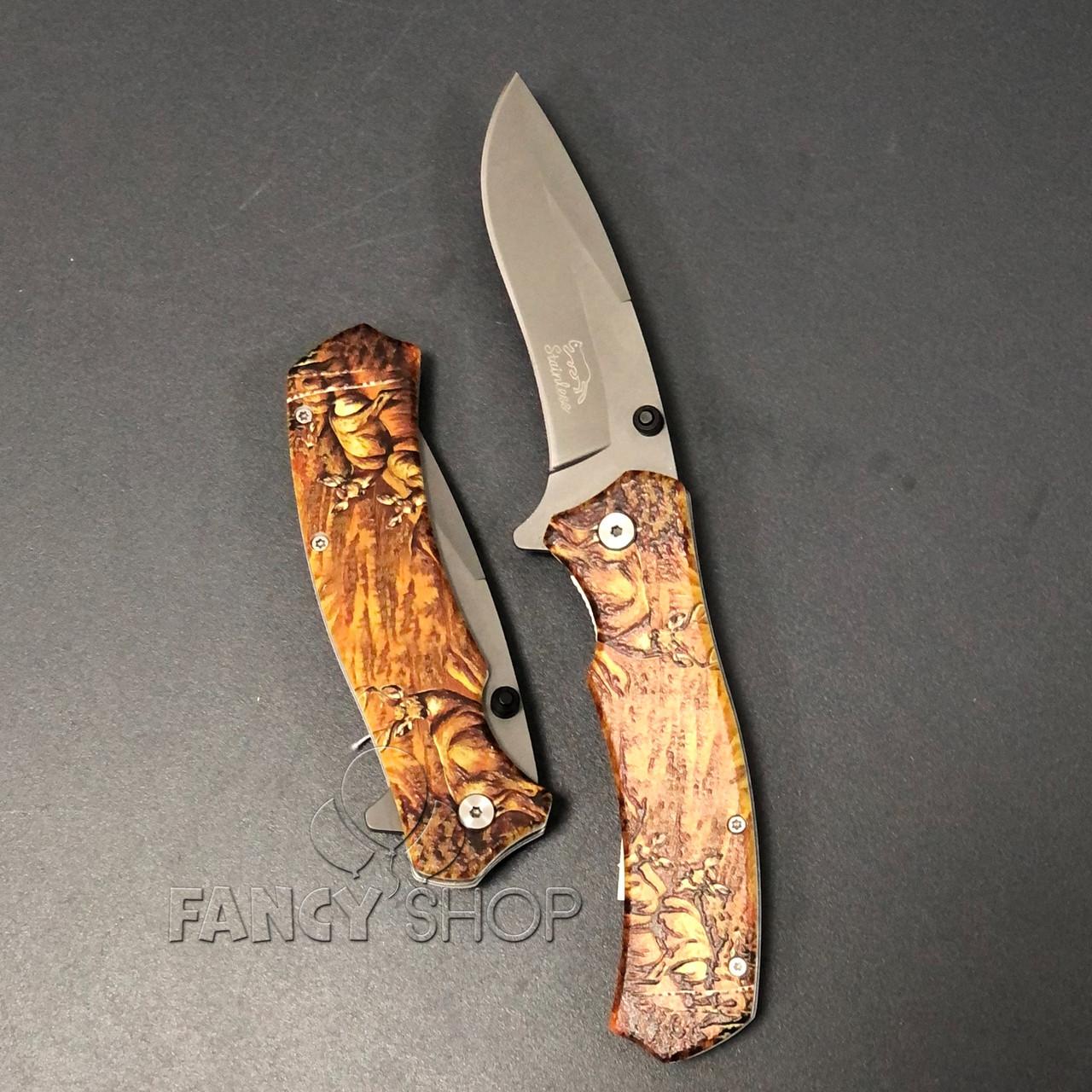 """Ніж складний """"Stainless Олень"""", 21.5 см, Нож складной """"Stainless"""""""