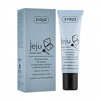 Флюид-корректор под макияж Ziaja Jeju Young Skin No Make-Up Foundation для молодой кожи лица, 30 мл