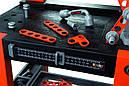 Дитячий набір інструментів Smoby Смоби майстерня 2 боксу 79 аксесуарів Black+Decker 360700, фото 4