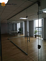 Скляні офісні перегородки
