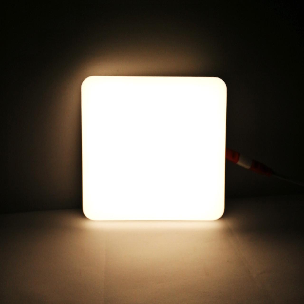 """LED панель  18W 1620LM 4500K  """"Стелс"""" квадрат нейтральный белый Lemanso"""