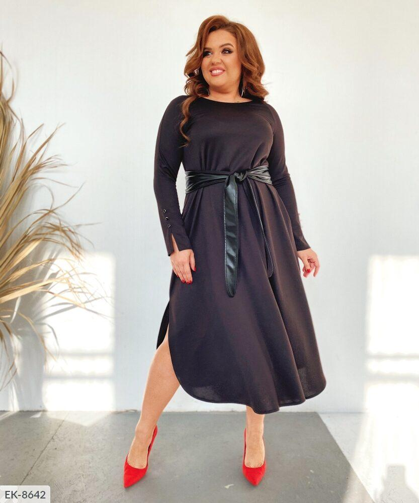 Стильное платье    (размеры 50-54) 0257-30
