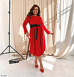 Стильное платье    (размеры 50-54) 0257-30, фото 3