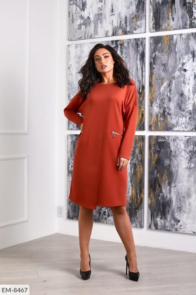 Стильное платье    (размеры 48-58) 0257-32