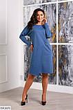 Стильное платье    (размеры 48-58) 0257-32, фото 2