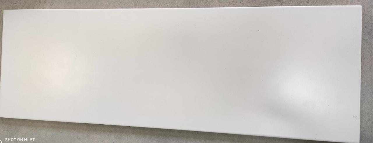 Облицювальна плитка АКЦІЯ WHITE SATIN 200x600x9