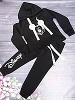 """Спортивный костюм детский """"Mickey"""" 128-152 см Черный Оптом"""