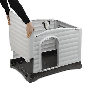 Пластиковая будка для собак. Ferplast DOGVILLA 70 Будка для собак. Домик для собаки