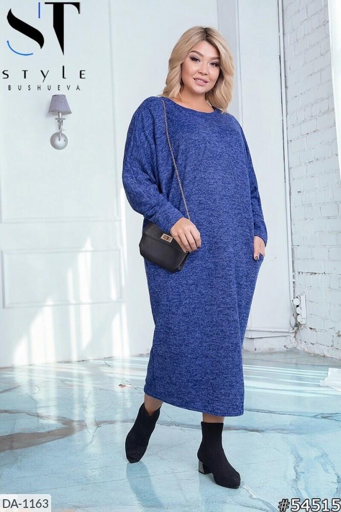 Стильное платье    (размеры 50-56) 0257-36
