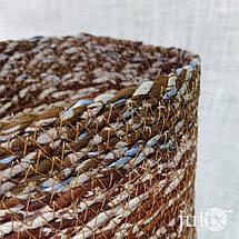 Кашпо плетеное цветное (текстильное), фото 3